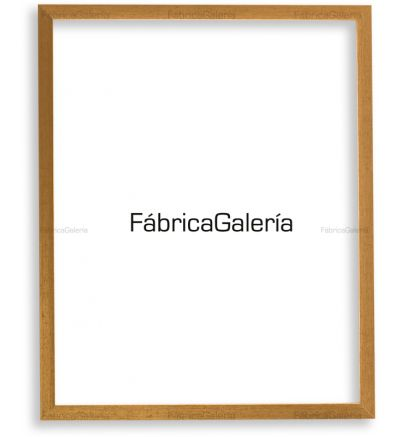 "Marco para foto 5x7"" (13x18cm) color oro jaspeado"