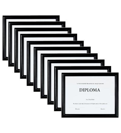 Set de 10 Marcos para Diploma